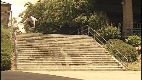 Derek Tracy vs El Toro 20 Stair Raw & Uncut (1080 HD) | A Happy Medium Skateboarding