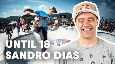 Desk Job Or Skateboarding Job? | Until 18 w/ Sandro Dias | Red Bull