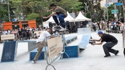 DESTROY AND CREATE 19 | CemporcentoSKATE