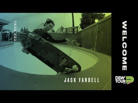 Dew Tour 2017 Pro Bowl Welcome Jack Fardell - Dew Tour