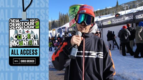 Dew Tour All Access with Chris Grenier: Day 3 | Dew Tour Copper 2020 | Dew Tour