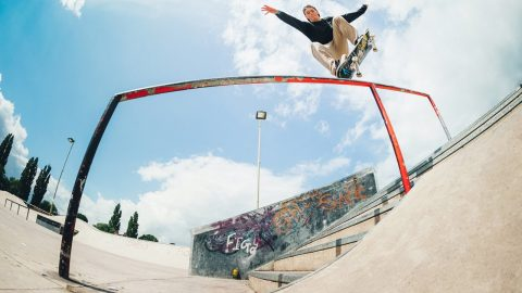 Dew Tour Am Search 2016 winner Adam Keats at Flowerpots, Exeter - Sidewalk Mag