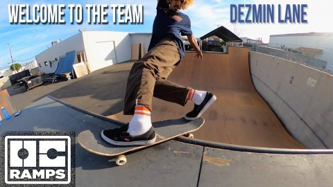 Dezmin Lane - Welcome to the team - OC Ramps | OC Ramps