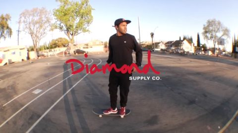 Diamond Days skateboarding in L.A. - Diamond Supply
