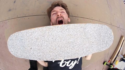 DIAMOND GRIP TAPE?!?! | YOU MAKE IT WE SKATE IT EP 218 | Braille Skateboarding
