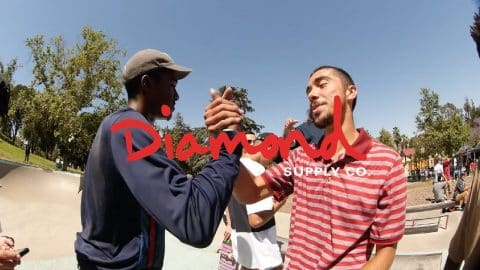 Diamond Skate Plaza Hazzard Park BBQ & Best Trick - Diamond Supply