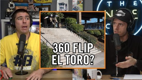 Did Chris Joslin 360 Flip The El Toro 20 Stair?? | Nine Club Highlights