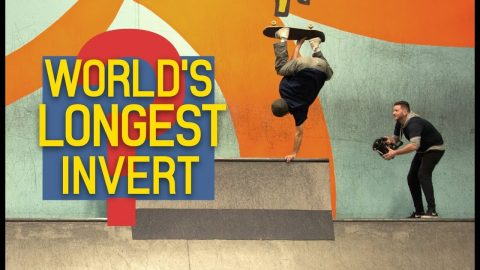 Did Erick Winkowski Just Stall The World's Longest Invert? | The Berrics