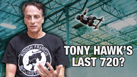 Did Tony Hawk Do His Last Ever 720 At 52 Years Old? | Nine Club Highlights