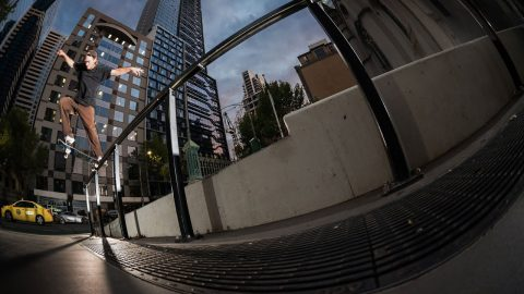 Digby Luxton - 'Cold Cat' part | Freeskatemag