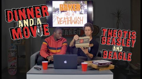 Dinner and a Movie with Beagle and Theotis | The Berrics
