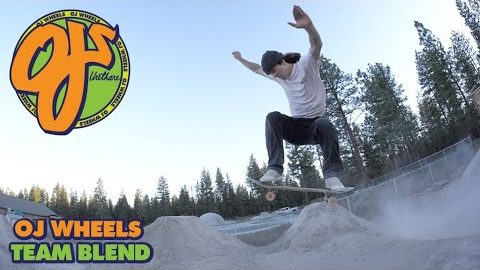 Dirt Jumps, Burnside, and Backyard Pools | OJ Wheels Fresh Blend | OJ Wheels