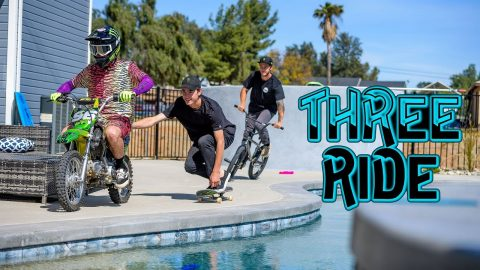 "Dirt Shark - ""Three Ride"" ft. Pat Casey, Axell Hodges, Trey Wood 