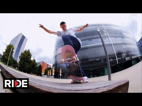 Discover The Best Skate Spots in Prague With Maxim Habanec & Friends - RIDE Channel