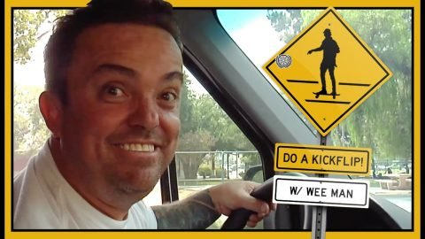 """DO A KICKFLIP!"" With Wee Man 