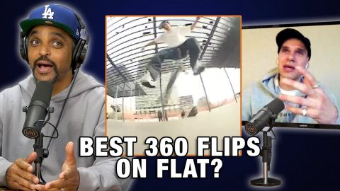 Does Wade DesArmo Have The Best 360 Flip On Flat? | Nine Club Highlights
