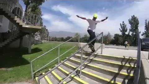Dominick Walker, Louie Lopez, Ethan Loy & Sean Imes skateboarding in Cali! | Madars Apse