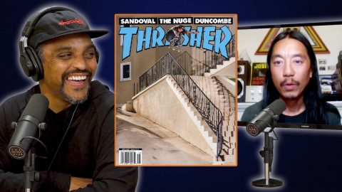 "Don ""Nuge"" Nguyen's Kickflip Lands On The Cover Of Thrasher Magazine! 