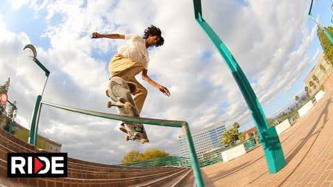 "Donne Dortch's ""Drought"" Video Part - RIDE Channel"