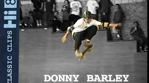 Donny Barley Skateboarding Classic Clips #274 Woodward Camp | Skateintheday