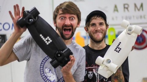 Don't Break the 3D printed boards!   You Make it We Skate it Ep 236   Braille Skateboarding