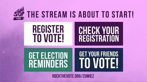 DON'T GHOST THE VOTE 2020 - LIVE from Twitch.tv/zumiez | Zumiez
