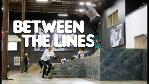 Donta Hill And Friends Shred Hidden Gems In The Park | Between The Lines | The Berrics