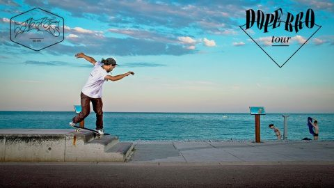 DOPE BRO Tour | A Skateboard Trip to Marseille and Nice, France | Titus Münster - Titus
