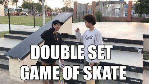 DOUBLE SET GAME OF SKATE! - Vinh Banh