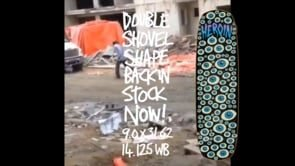 Double Shovel Ad | Heroin Skateboards