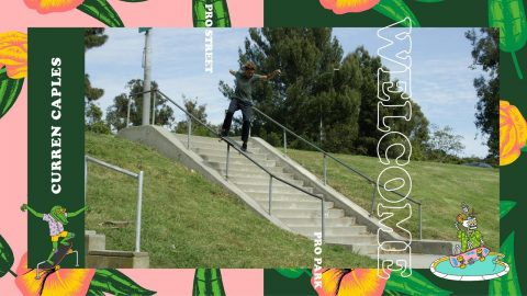 Double Threat Curren Caples to Compete in 2018 Pro Park and Street | Dew Tour