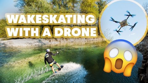 Drone Wakeskating In Slovenia | Red Bull