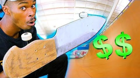 DROP IN ON THE 5 SCARIEST BOARDS FOR CASH CHALLENGE! | Braille Skateboarding