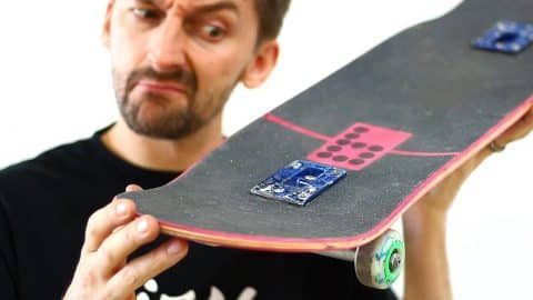 DROP THROUGH SKATEBOARD DECK | YOU MAKE IT WE SKATE IT EP 116 - Braille Skateboarding