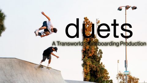 Duets: A Transworld Skateboarding Production - Official Teaser - Tiago Lemos, Carolos Ribeiro | Echoboom Sports