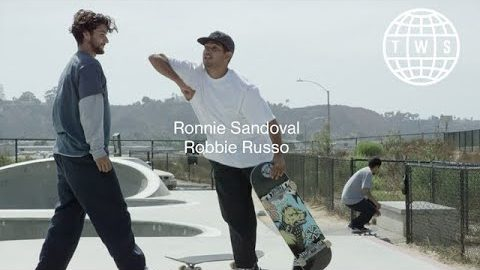 duets, Ronnie Sandoval and Robbie Russo | TransWorld SKATEboarding