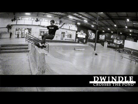 Dwindle Crosses the Pond - International Flow - The Berrics