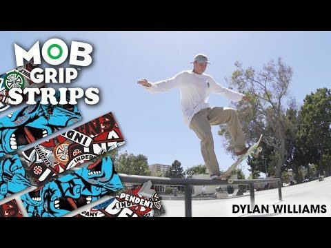 "Dylan Williams: NEW Graphic MOB ""Grip Strips"" - Mob Grip"