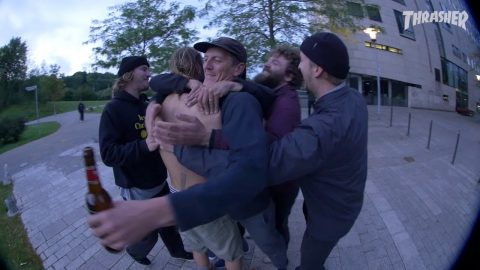 Echoes From The Road - Episode 1 - Trailer THRASHER | Antiz Skateboards