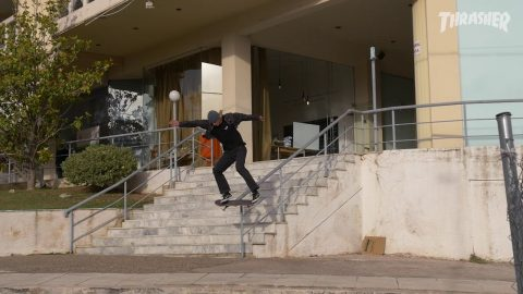 Echoes From The Road - Episode 4 - Trailer THRASHER | Antiz Skateboards