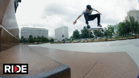 Egor Kaldikov and Friends Skate the Streets of Moscow - RIDE Channel