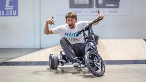 ELECTRIC DRFIT TRIKES!!! | Braille Skateboarding
