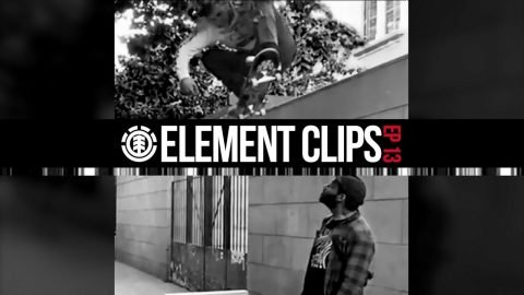 Element Clips #13 - Jaakko is Pro, Nick Garcia jumping off walls & More... | Element