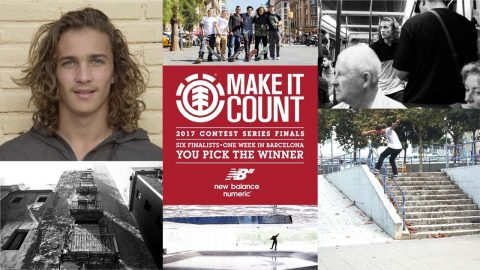 Element Make It Count 2017: Brandon Valjalo - Element