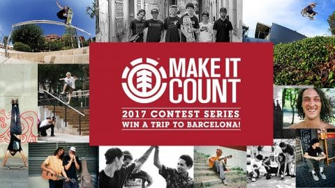 ELEMENT MAKE IT COUNT 2017 - Element