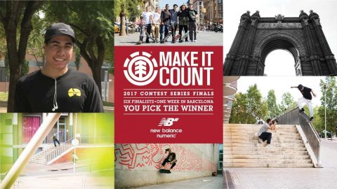 Element Make It Count 2017: Keanu Peina - Element