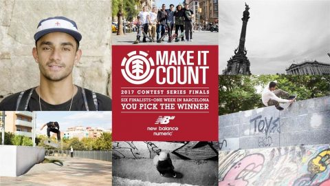 Element Make It Count 2017: Marcio Roberto - Element