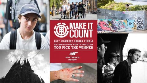 Element Make It Count 2017: Raphael Detienne - Element