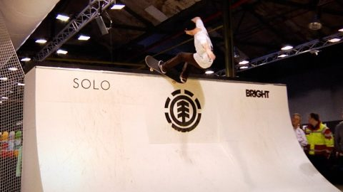 Element Wallride Session at Bright 2018 - SOLO Skateboard Magazine
