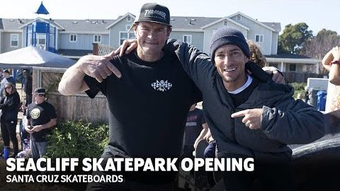 EMAN TEARS THROUGH DREAMLAND'S NEW SKATEPARK w/ MAURIO, KNIBBS + MORE! | Santa Cruz Skateboards | Santa Cruz Skateboards